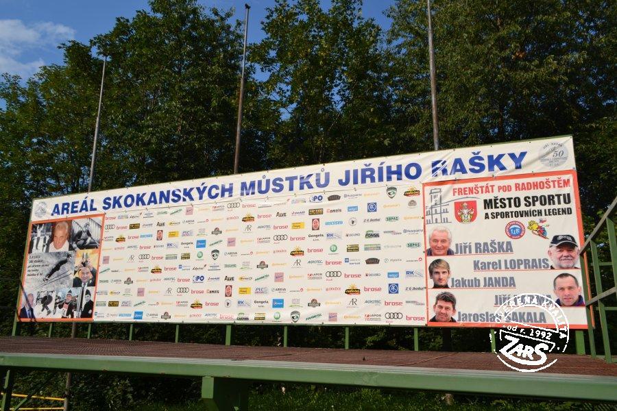 Foto Skokanský areál Jiřího Rašky