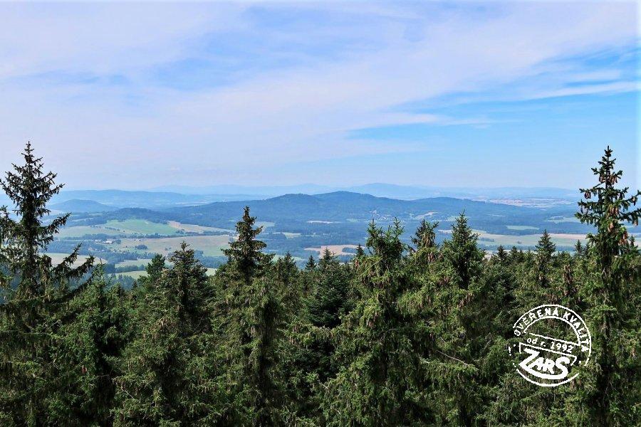 Foto rozhledna Kraví hora