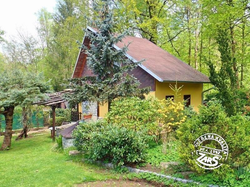 Chata Jindřišské údolí k pronájmu, Jindřichohradecko (Česká Kanada)