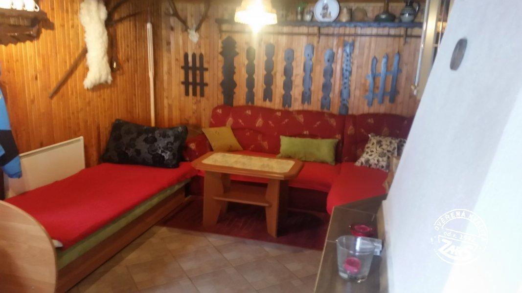 Chalupa Vyšná Boca k pronájmu, Vysoké a Nízké Tatry