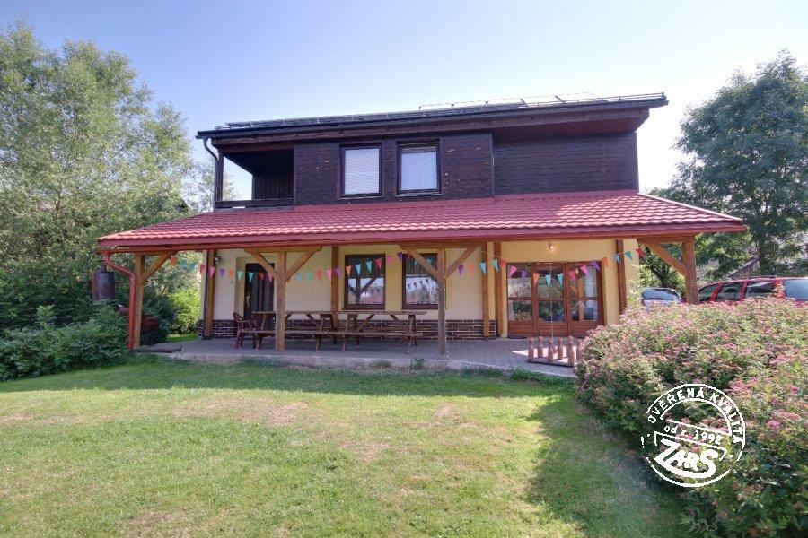 Chata Horní Branná s wellness k pronájmu, Krkonoše