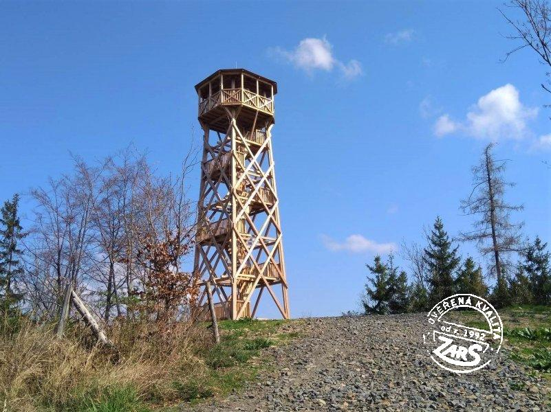 Foto Rozhledna Sosnová na Anenském vrchu