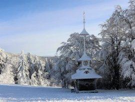 Foto zimní Pustevny