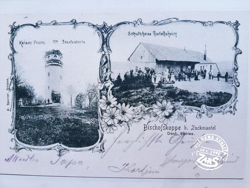 Foto Rozhledna Biskupská kupa
