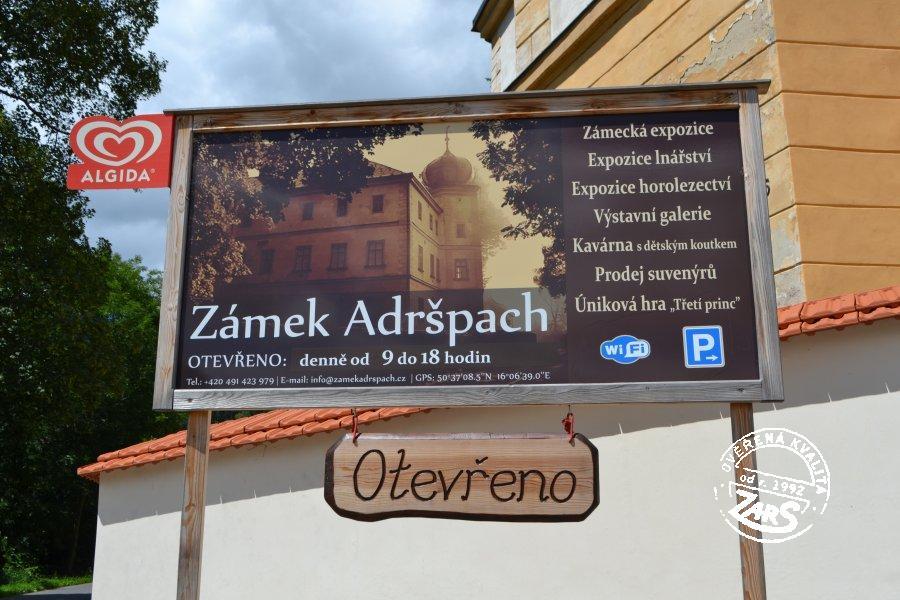Foto Zámek Adršpach