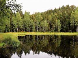 Foto Černé jezírko - Jiráskovy skály