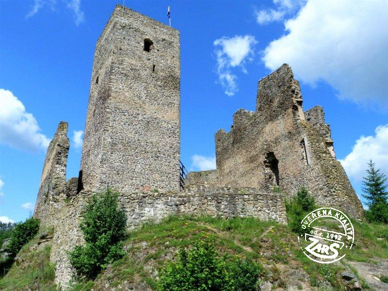 Foto Zřícenina hradu Rokštejn