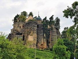 Foto Skalní hrad Sloup v Čechách