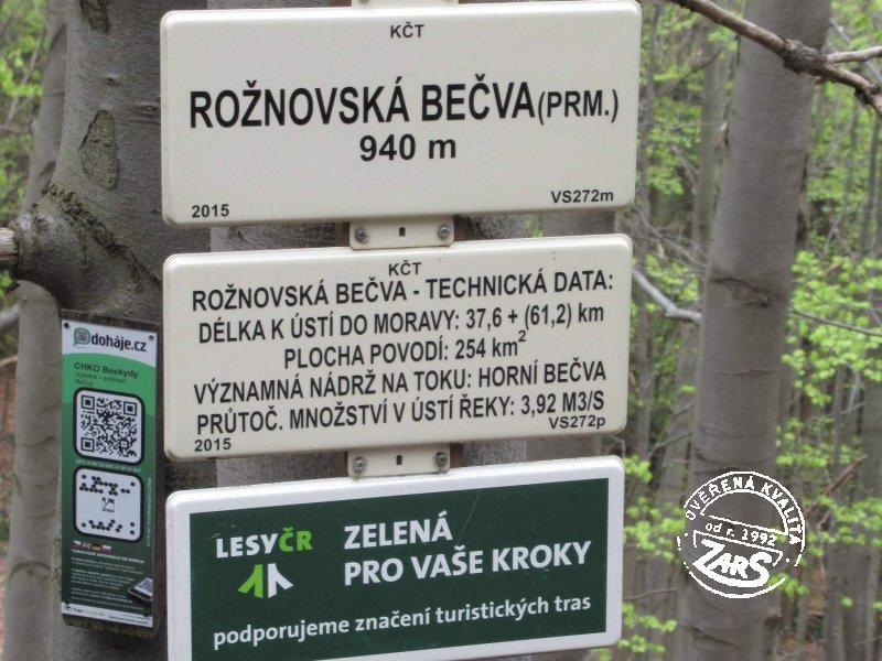 Foto Pramen Rožnovské Bečvy