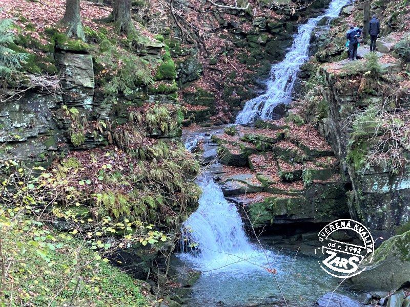Foto Přírodní památka Vodopády Satiny - Malenovice