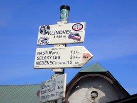 Foto Vrchol Klínovec
