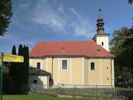 Foto Kostel a hroby portášů - Valašská Bystřice