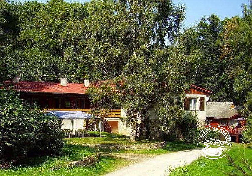 Chata u Vranovské přehrady k pronájmu, Znojemsko a Podyjí