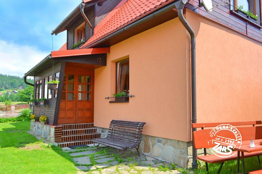 Rekreační domek Prostřední Bečva I k pronájmu, Beskydy a Valašsko