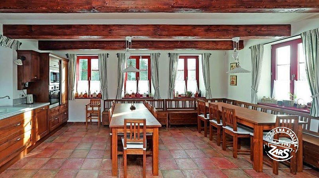 Chalupa Cikháj k pronájmu, Vysočina