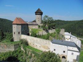 hrad Sovinec v Jeseníkách