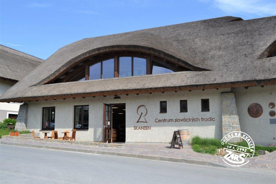 Foto Archeoskanzen Modrá