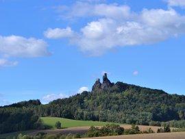 Foto hrad Trosky
