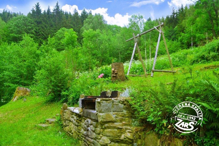 Chata Vysoký Potok k pronájmu, Jeseníky